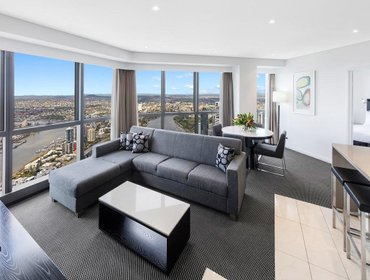 Гестхаус Meriton Serviced Apartments Adelaide Street