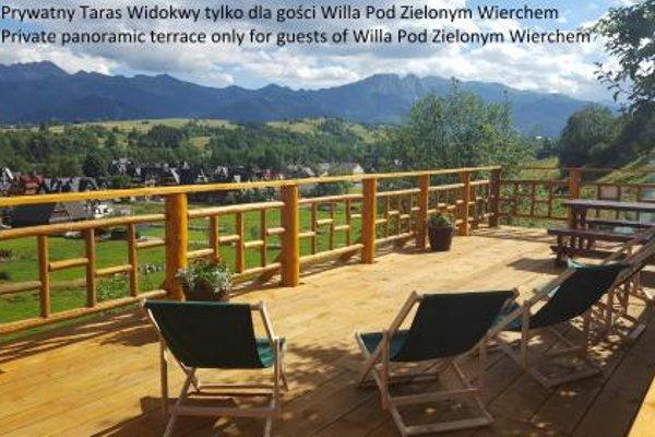 Willa Pod Zielonym Wierchem - фото 20