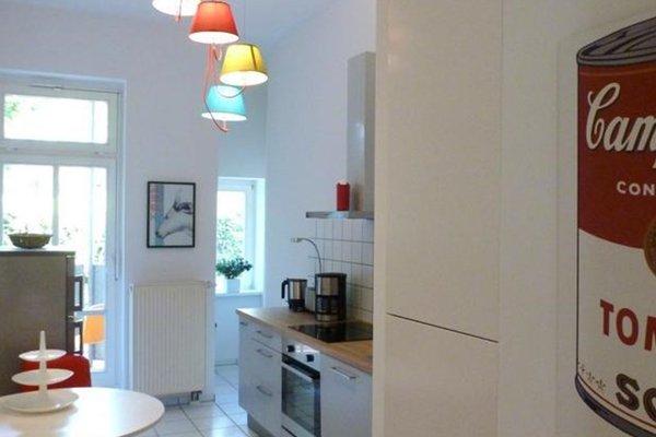 Design Apartment in der Leipziger Sudvorstadt - фото 3