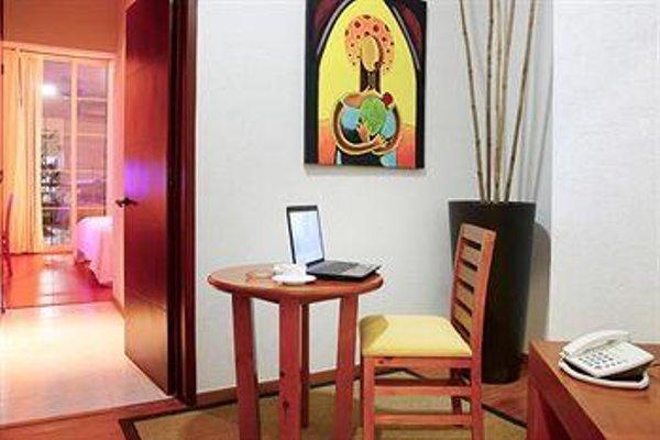 Hotel Suites Mexico Plaza Guanajuato - фото 7