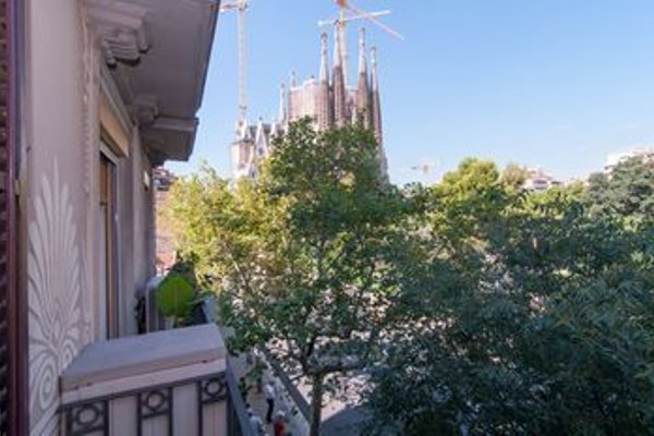 Bbarcelona Sagrada Familia Garden Apartment - 20