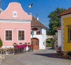 unser rosa Haus fur Sie