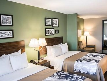 Апартаменты Sleep Inn and Suites Ruston