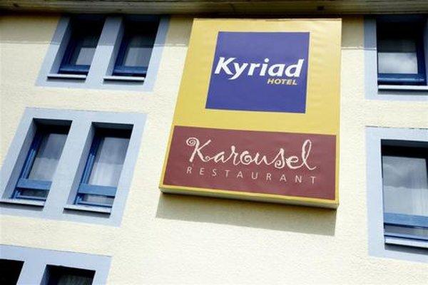 Kyriad Rouen-Nord ~ Mont-St-Aignan - фото 21