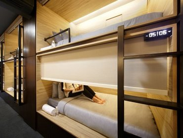 Гестхаус The Pod @ Beach Road Boutique Capsule Hotel