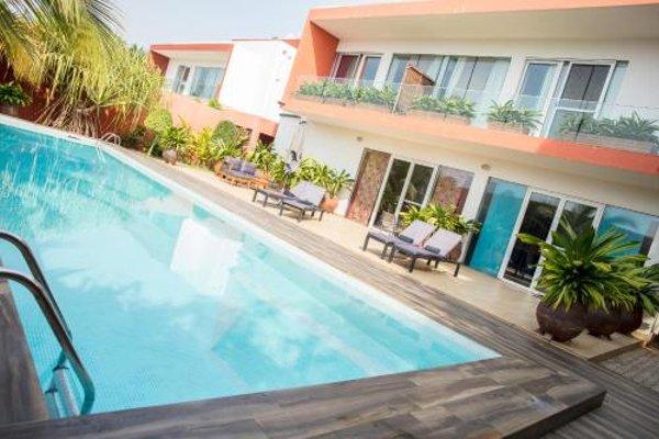 Hotel Maison Rouge Cotonou - фото 22
