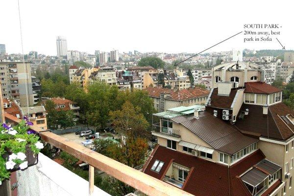Panoramic Downtown Vitosha Apartment - фото 18