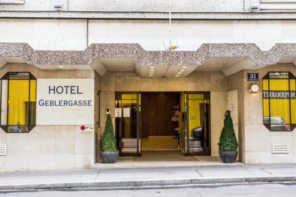 Hotel Geblergasse - фото 21