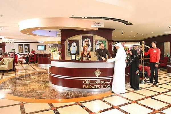 Emirates Stars Hotel Apartments Dubai - фото 15