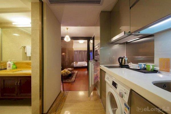 Pazhou Linjiang Shangpin Hotel Apartment - фото 15