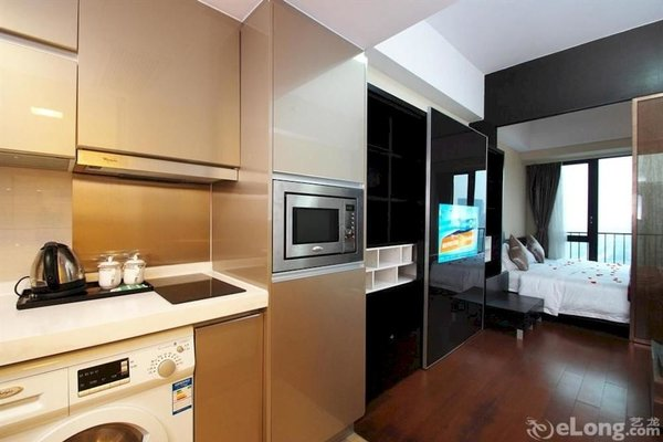 Pazhou Linjiang Shangpin Hotel Apartment - фото 17