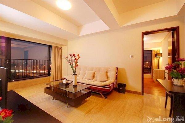 Pazhou Linjiang Shangpin Hotel Apartment - фото 9