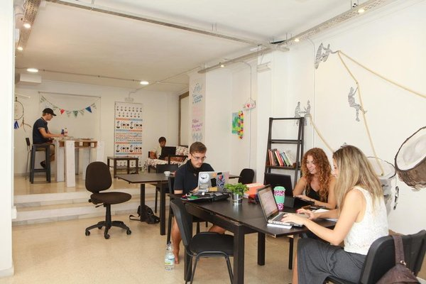 La Cocotera Boutique Hostel & Coworking - фото 15