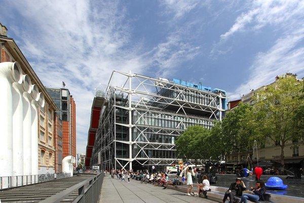Short Stay Apartment Pompidou - фото 39