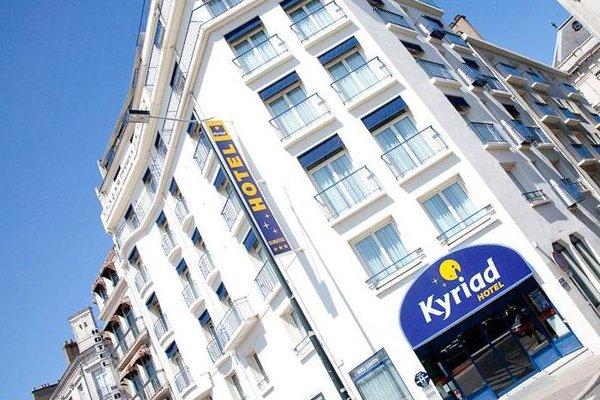 ibis Styles Nantes Centre Gare Hotel (ех. Kyriad Nantes Centre; Kyriad Nantes Gare Nord) - фото 21