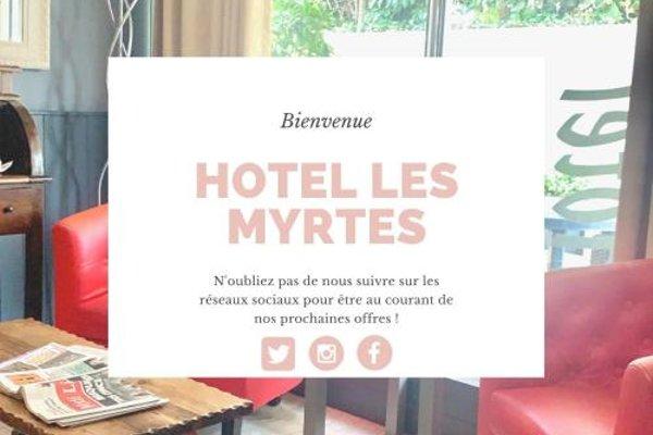 Hotel Les Myrtes - фото 14