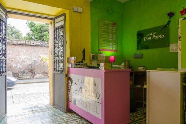 Casa de Don Pablo Hostel - фото 17