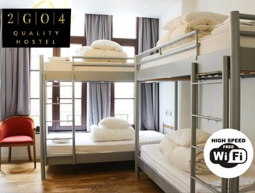 Хостел 2GO4 Quality Hostel Brussels Grand Place