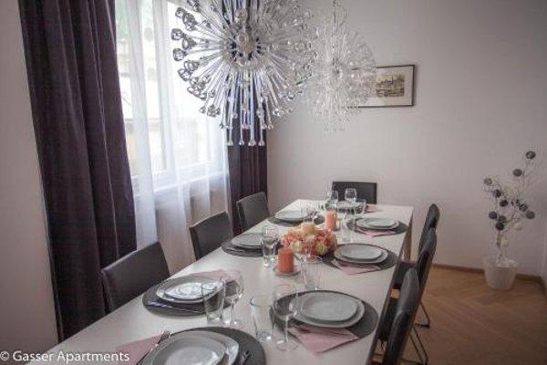 Gasser Apartments - Apartments Karlskirche - фото 17