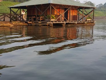 Гестхаус Kurupira Floating Cabin Amazon