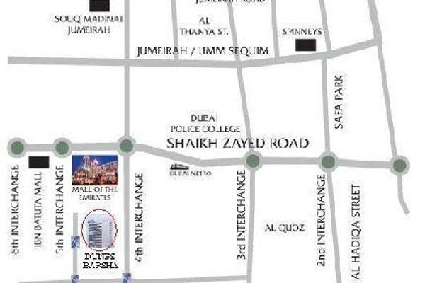 Апартаменты Dunes Hotel Apartments Al Barsha - фото 21