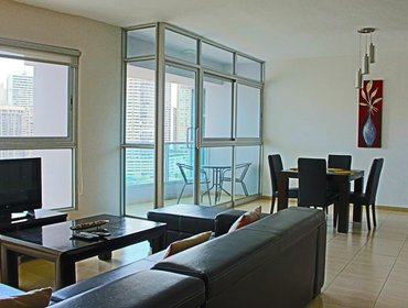 Apartments Wonderful 1 Bedroom Apartment in Panama City with Aircon, Parking, Pool, Gym and Balcony