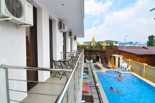 Отель Омега - фото 43