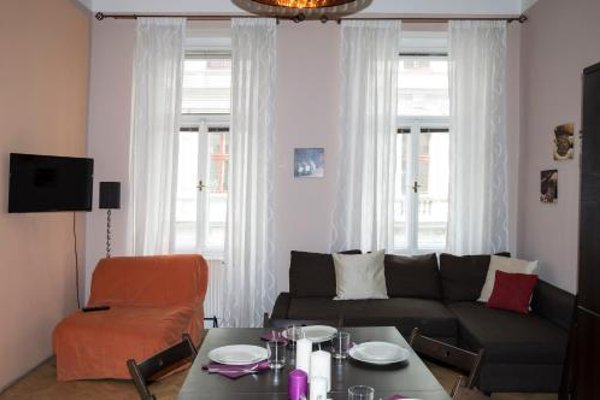 Modern Apartment Ve Smeckach 28 - фото 9