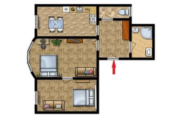 Apartment Navratilova 16 - фото 22