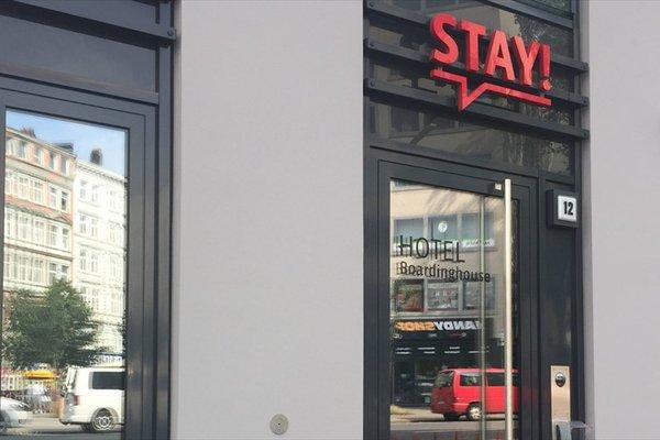 Stay! Hotel Boardinghouse - фото 16
