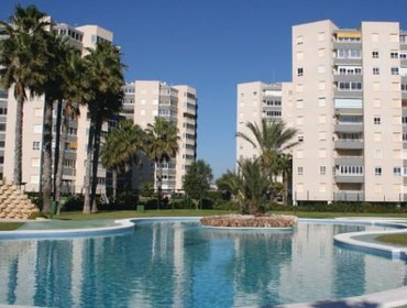 Apartments One-Bedroom Apartment Alicante with Sea view 02