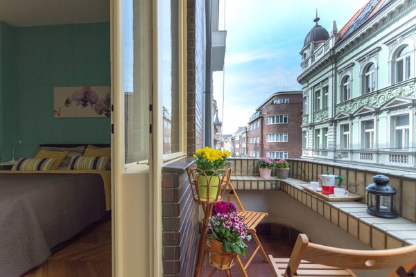 Nice Apartment with Terrace - фото 14