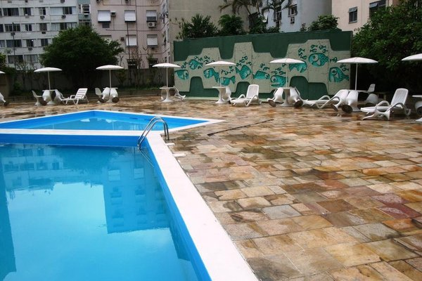 Apartamento Copacabana Barata Ribeiro - фото 20