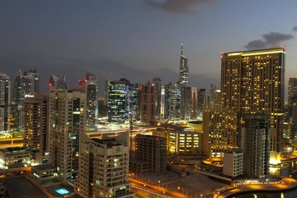Silverine Dubai Marina Luxury Apartment - фото 34