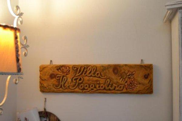 B&B Villa Il Poggiolino - фото 12