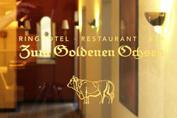 Ringhotel Zum Goldenen Ochsen - фото 14