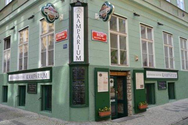 Apartment Serikova Mala Strana - фото 14