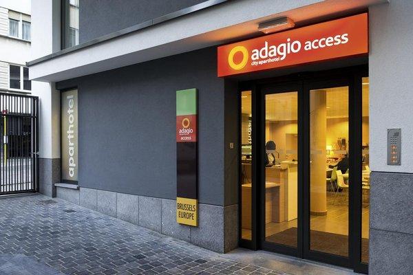 Aparthotel Adagio Access Bruxelles Europe Aparthotel - фото 19