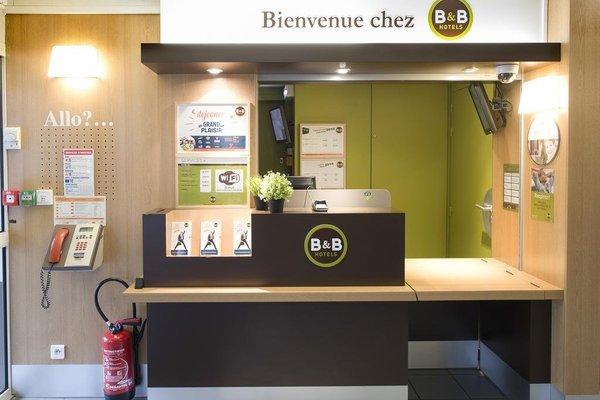 B&B Hotel Clermont-Ferrand Aeroport - фото 17