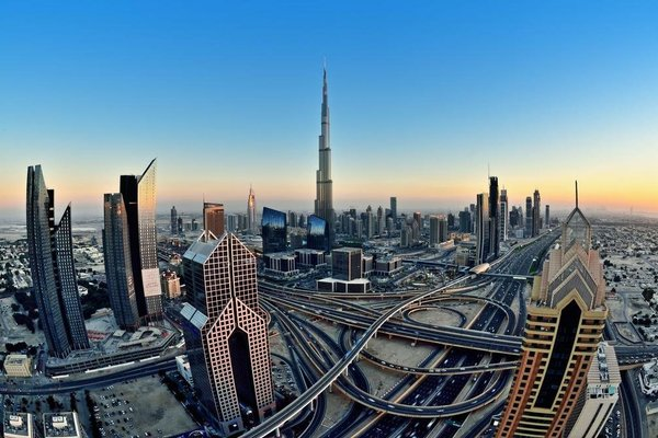 Wider View Downtown Burj Al Nujoom - 23