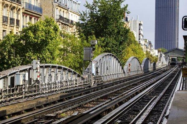 Charm balcony Eiffel & AV suffren - 8