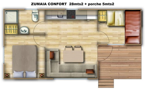 Camping & Bungalows Zumaia - фото 21