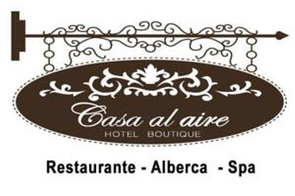 Hotel Boutique Casa del Aire - фото 12