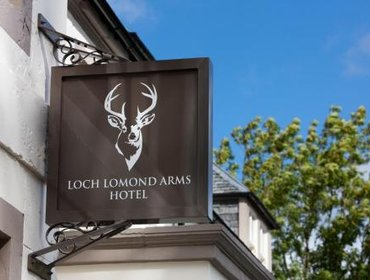 Гестхаус Luss Cottages at Loch Lomond Arms Hotel