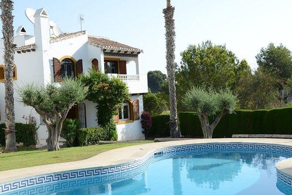 Costa Blanca Villa With Golf & Bath - 8