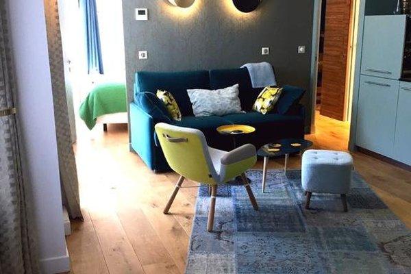 Luxury Apt. Le Marais-Pompidou. 2BR/2BA. A/C - фото 3