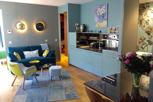 Luxury Apt. Le Marais-Pompidou. 2BR/2BA. A/C - фото 6