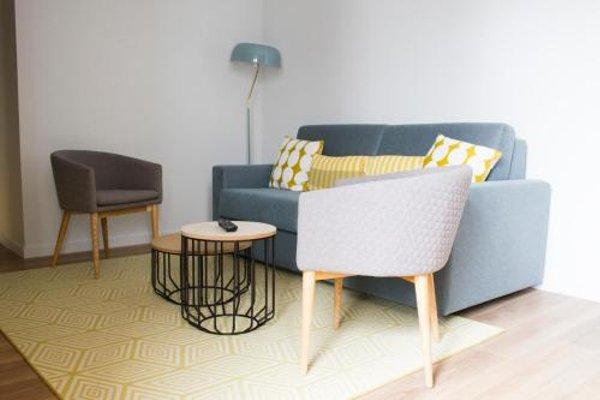 Lux Apartamentos Santiago - фото 8