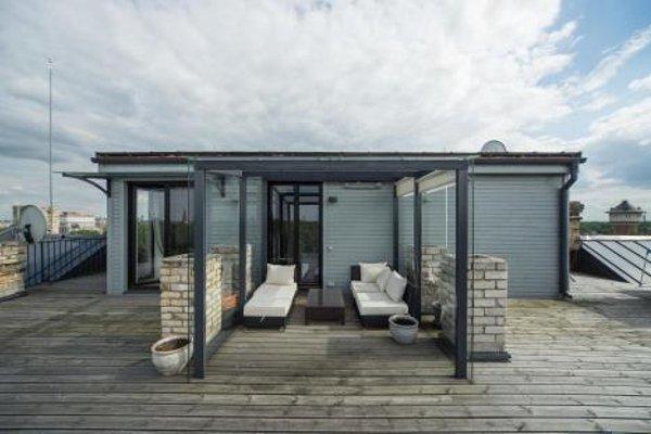Riga Luxury Loft with Terrace - фото 22