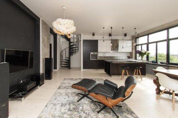 Riga Luxury Loft with Terrace - фото 6
